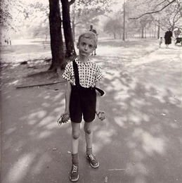 Diane Arbus - Child with Toy Hand Grenade in Central Park, New York City (1962)