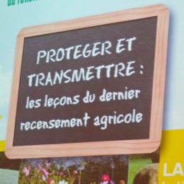Jean-Michel Anaclet, Prsdt du CT technique Safer Landes, Dominique Granciet, Prsdt Chambre Agriculture Landes, Francis Massé, Prdt SAFER AA, Serge Jourdan, Prsdt Com de Communes du Gabardan