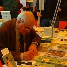 Michel Déon, Salon du Livre Paris 2013