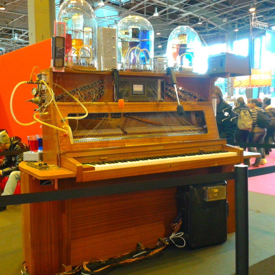 Le pianocktail de Boris VIan, Salon du Livre Paris 2013