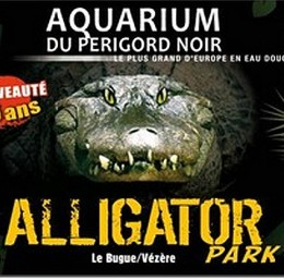 AQUARIUM PERIGORD NOIR - ALLIGATOR PARK