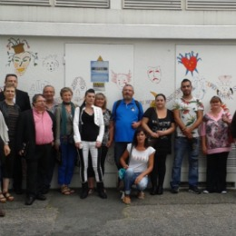 Vernissage 1ère session 2014 du programme Elektrik'Art, Mérignac