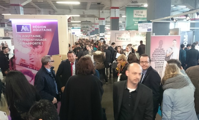 Le 8e salon du recrutement en alternance bordeaux s 39 associe au salon de l 39 apprentissage une - Salon de l alternance bordeaux ...