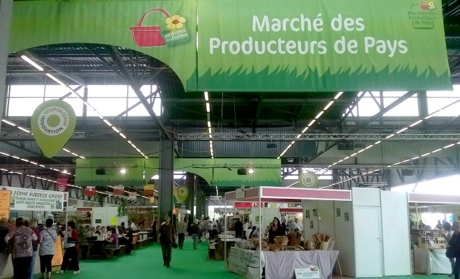 Les producteurs de pays font leur march aqui au for Nocturne salon agriculture