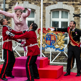 "Spectacle ""The Queen French World Tour"" escales d'été 2015"