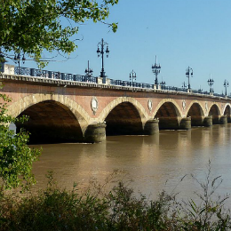 Le Pont de pierre de Bordeaux - Patrick Despoix - Creative Commons