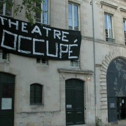 Le TNBA occupé par des intermittents du spectacle