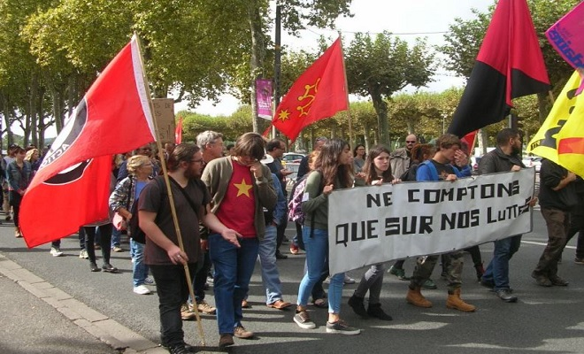 Manifestation 12 septembre 2017 en Lot-et-Garonne