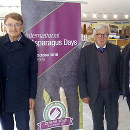 Présentation de l'International Asparagus Days sur le Salon de l'Agriculture de Bordeaux