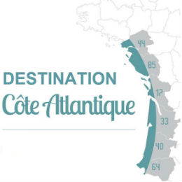 Logo Destination Côte Atlantique
