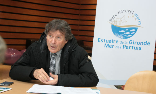 Philippe Plisson à l'issue du vote du 8 novembre à La Rochelle