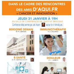 Affiche Cancer et innovation