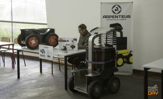 Un des exposants du Robot Makers' Day