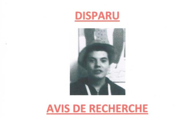 Disparition de Romain Vergracht