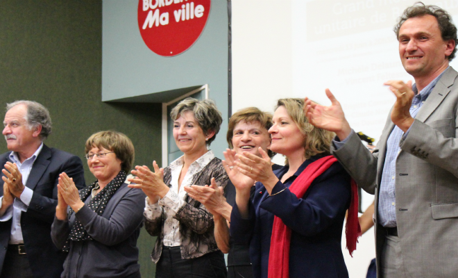 Grand meeting unitaire de la gauche bordelaise