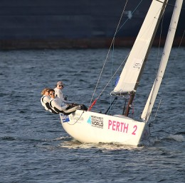 Elodie Bertrand championne de Match Racing
