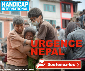 Handicap International - Urgence Népal